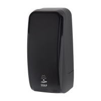 Cosmos Sensor Schaumseifenspender 1000ml schwarz