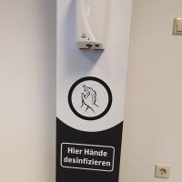 Desinfektionsstand MDF